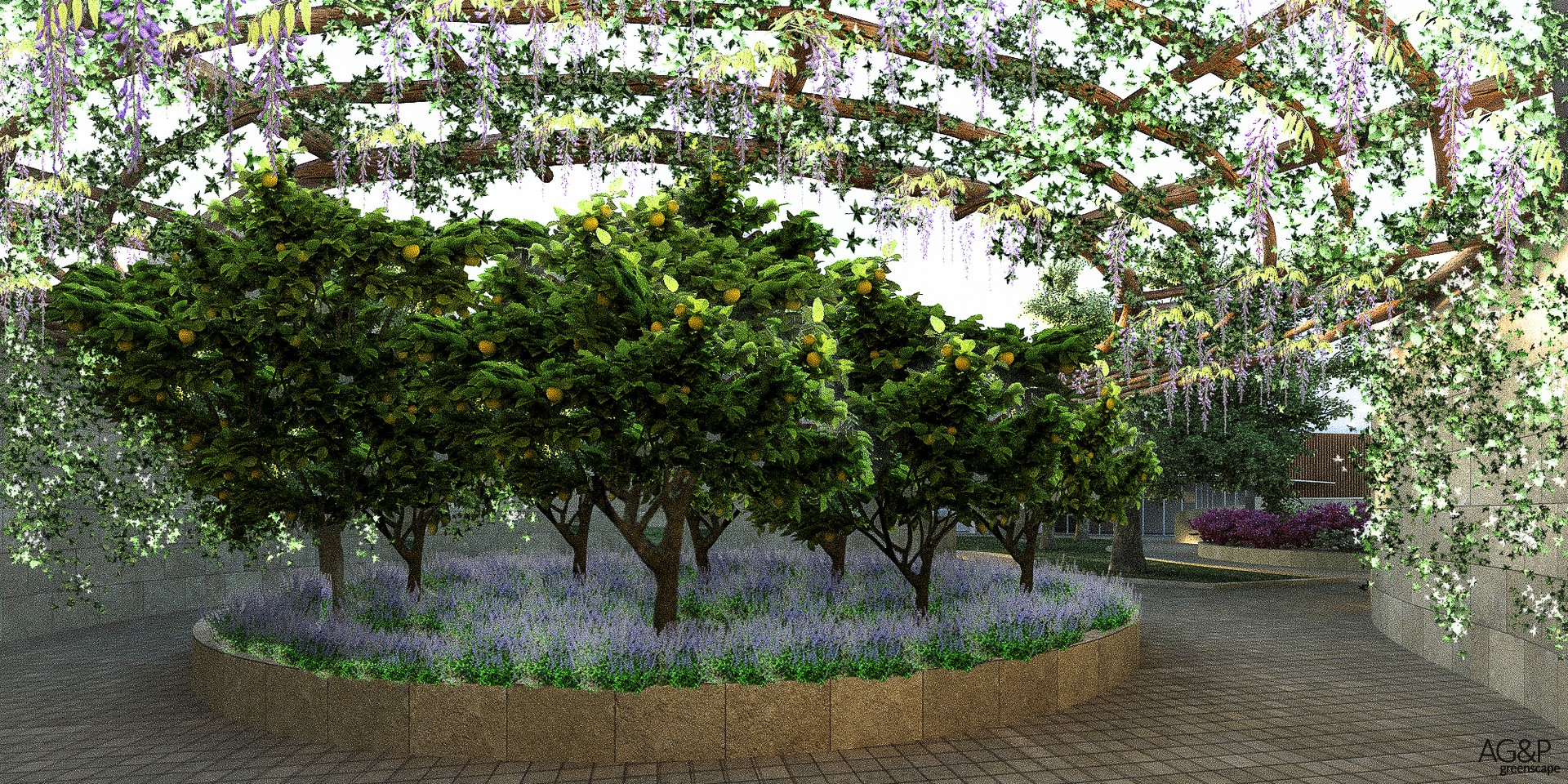 Il giardino degli eventi 7 ag p greenscape - Il giardino degli etruschi ...