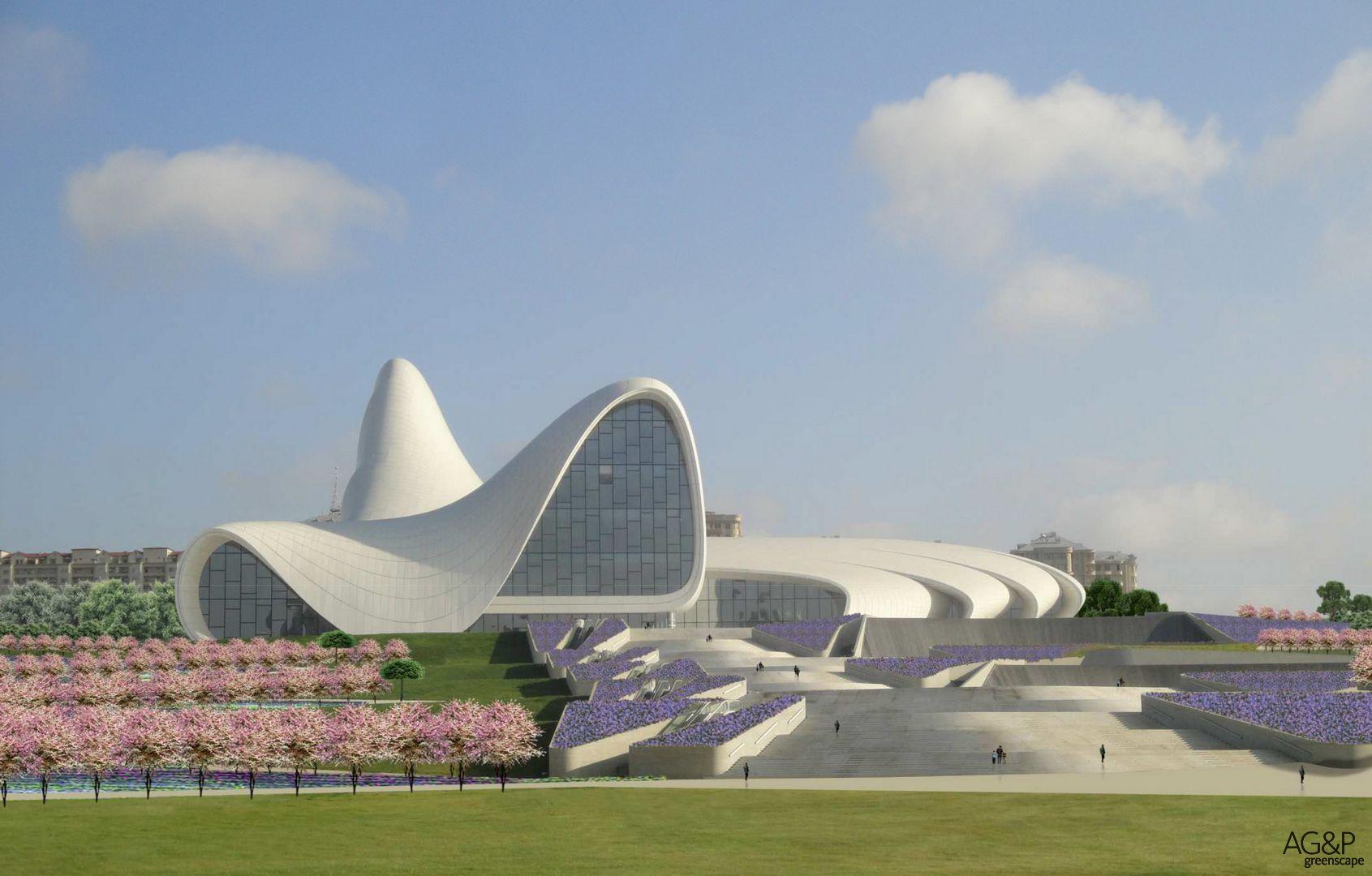 Heydar Aliyev Center Park
