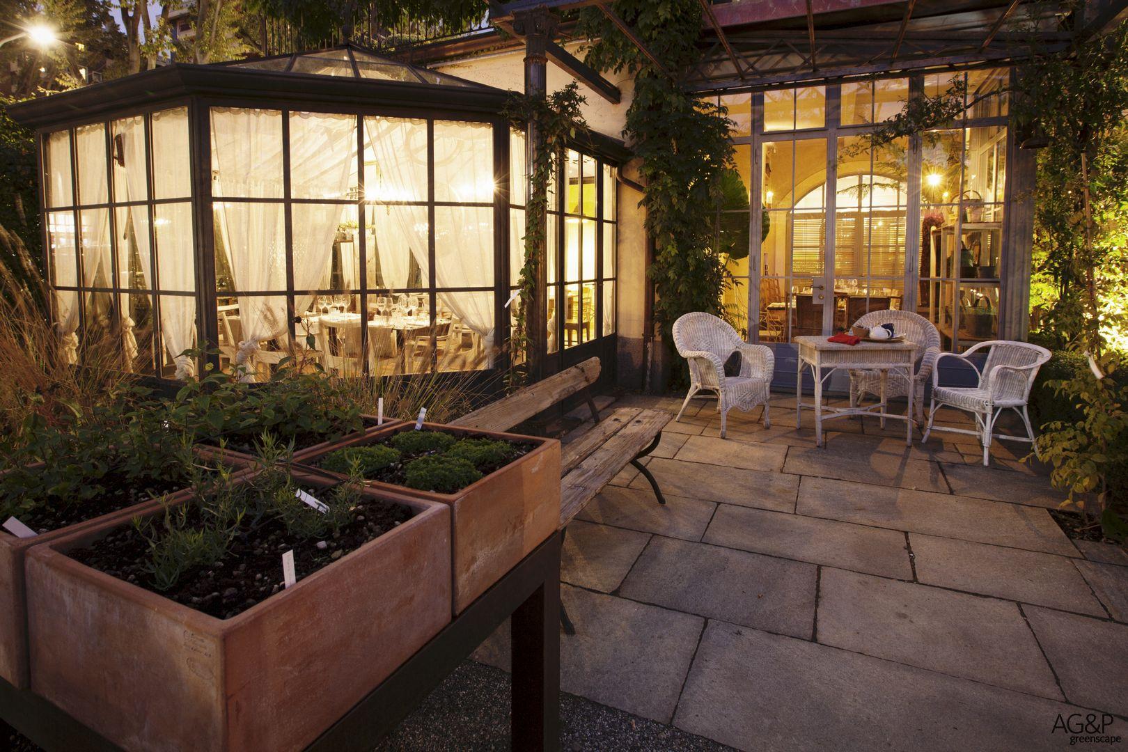 Giardino Ristorante Alfresco 8 Ag P Greenscape
