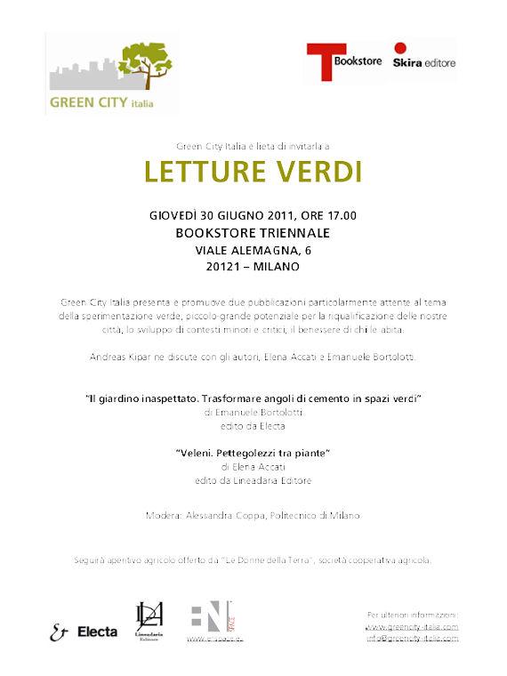 Letture Verdi: Il giardino inaspettato