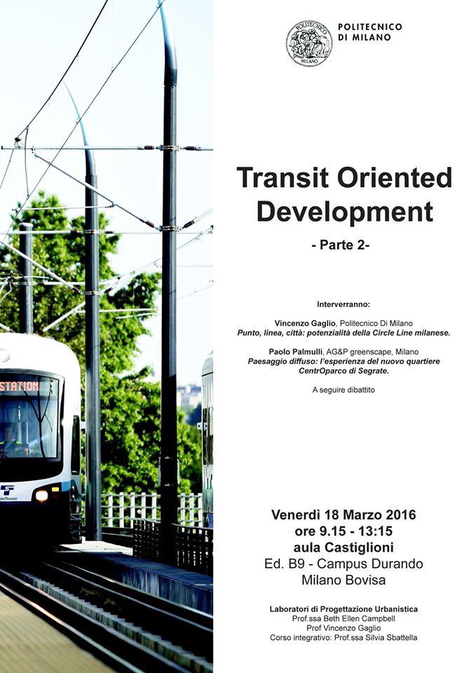 AG&P per il Transit Oriented Development