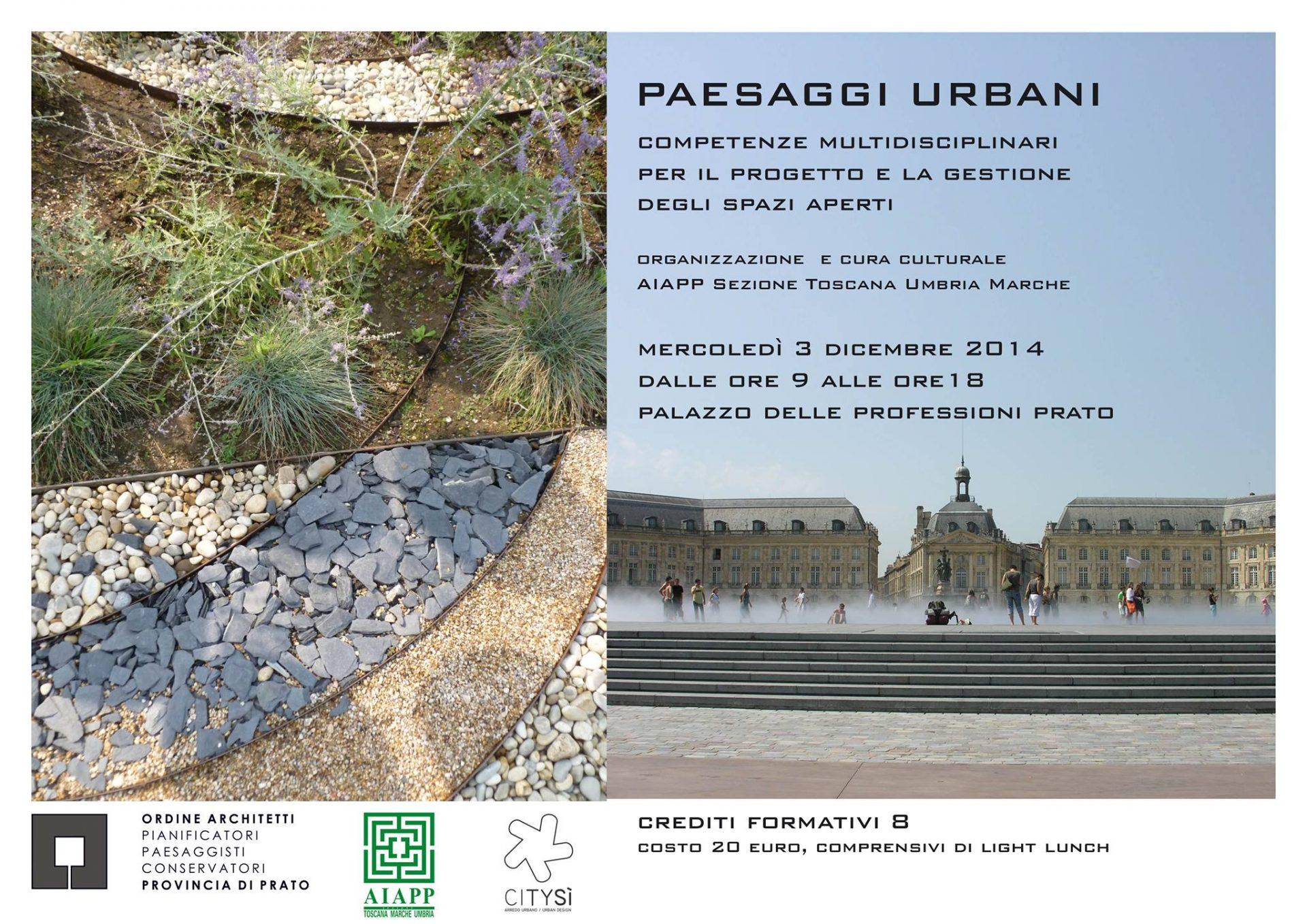 Convegno Paesaggi urbani