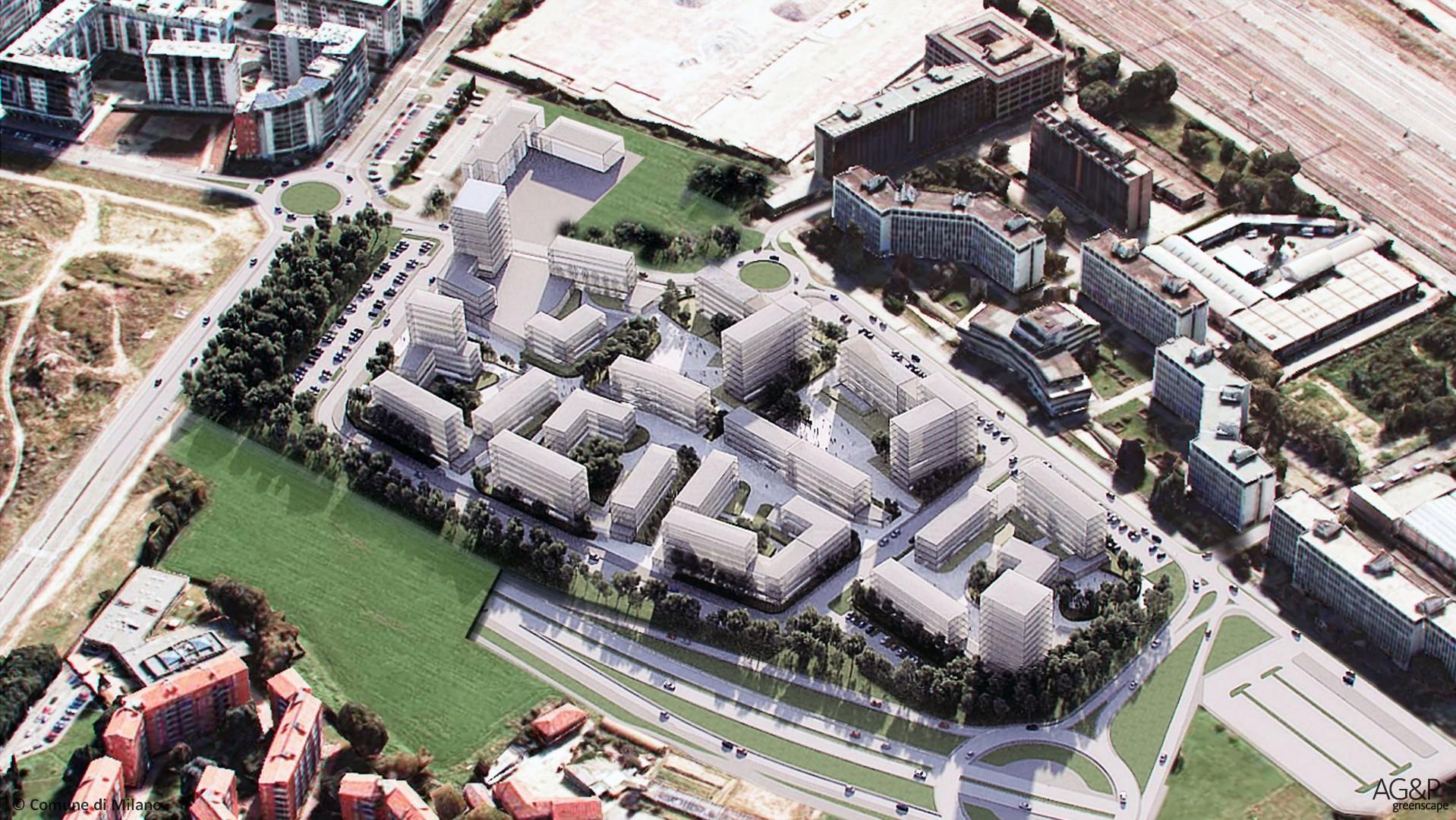Nuovo quartiere Merezzate