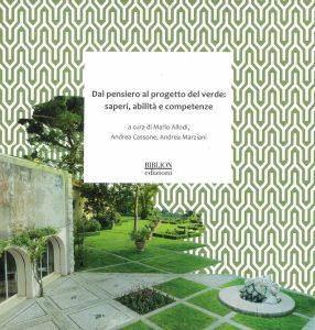 Dal pensiero al progetto del verde: saperi, abilità e competenze