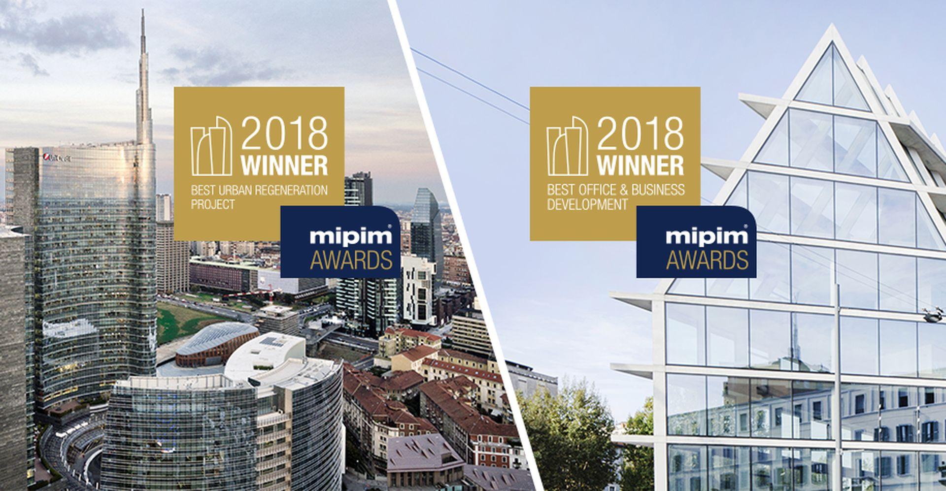 """Porta Nuova premiata come """"Best Urban Regeneration Project"""""""