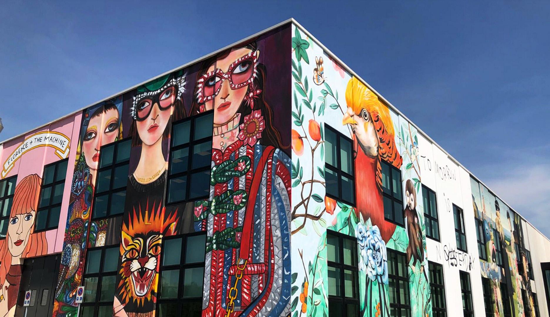 Gucci inaugura Art Lab 3 - AG P greenscape 3e77f304579d