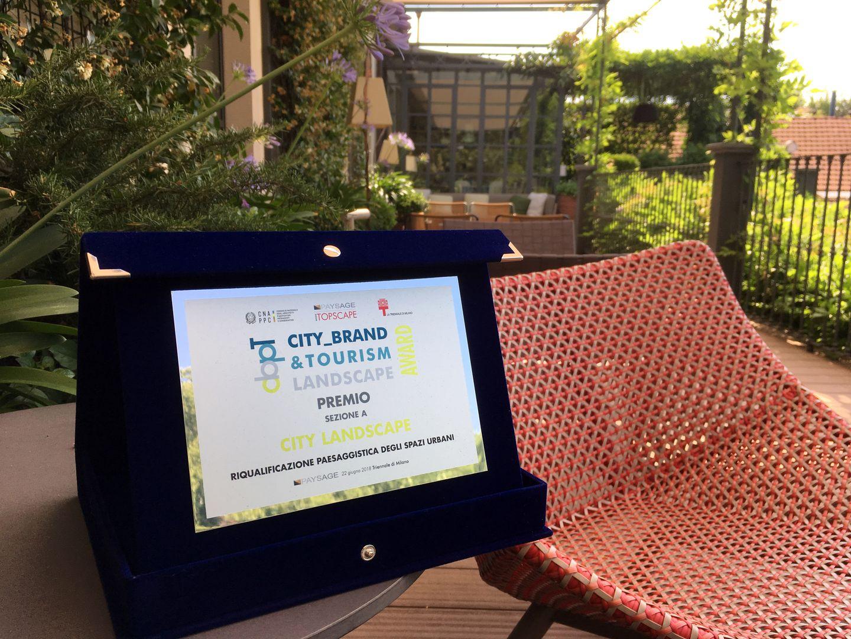 Premio per la Biblioteca degli Alberi nella sezione City Landscape – Riqualificazione Urbana