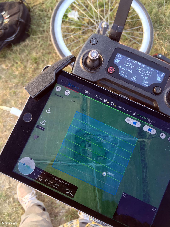 Un drone a servizio del paesaggio