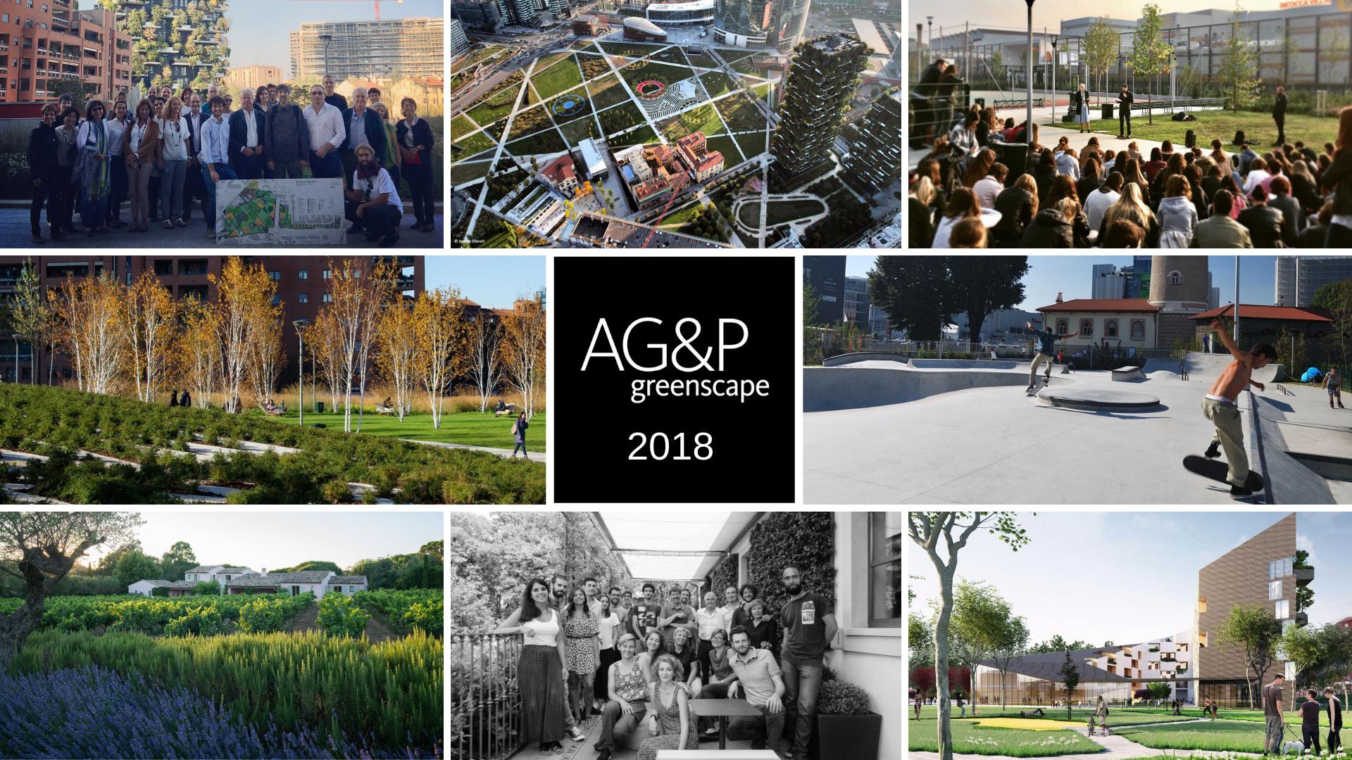Il 2018 di AG&P greenscape