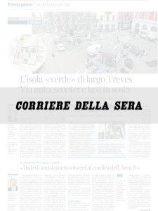 Rigenerazione verde per Largo Treves a Milano