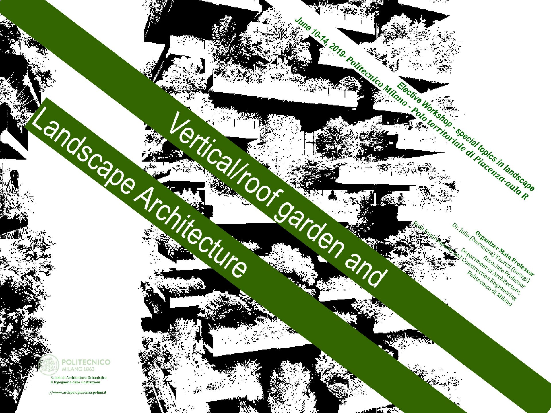AG&P a Piacenza per l'Elective Workshop special topics in landscape