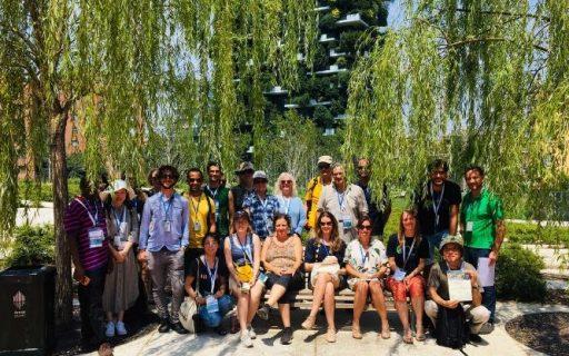 Ospiti internazionali in Biblioteca degli Alberi