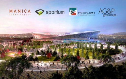 Nuovo San Siro: AG&P greenscape con il gruppo Manica, Sportium-Progetto CMR