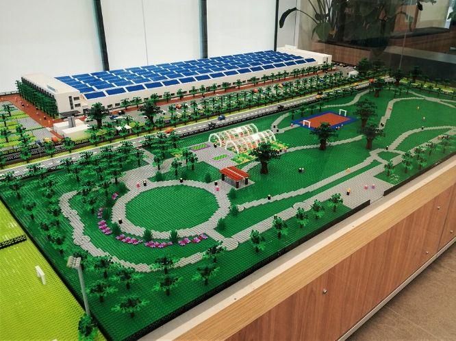 Gli Orti di Siemens con il Lego