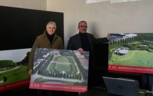Presentato il Nuovo Parco del Te a Mantova