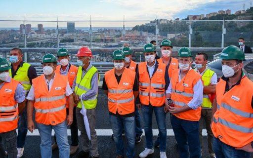 Inaugurato a Genova il nuovo Ponte di Renzo Piano