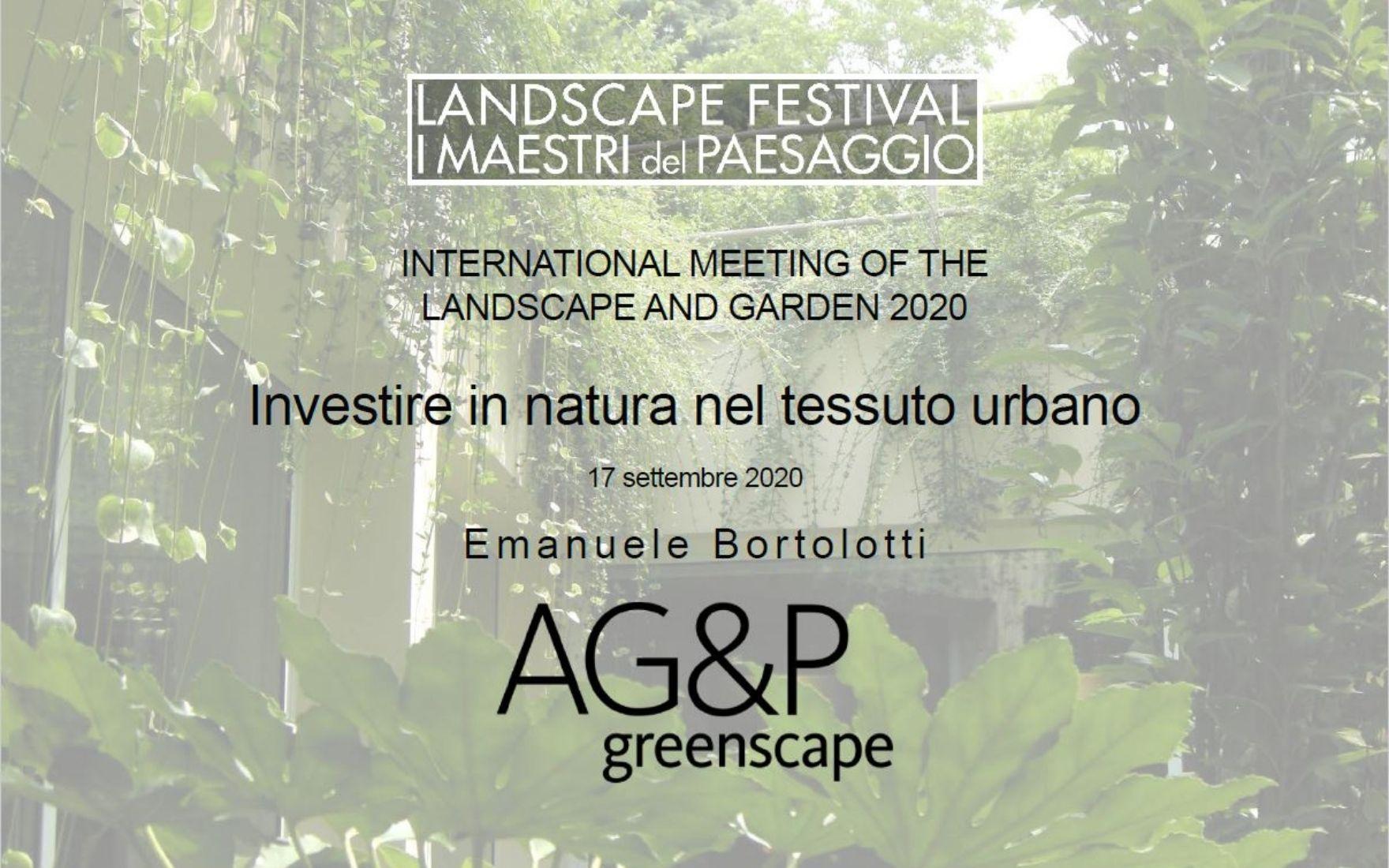 Il video di I Maestri del Paesaggio con Emanuele Bortolotti