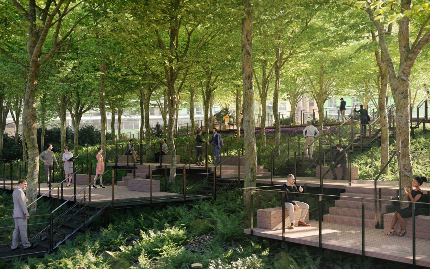 Renzo Piano Building Workshop riqualifica Monte Rosa 91 con AG&P greenscape