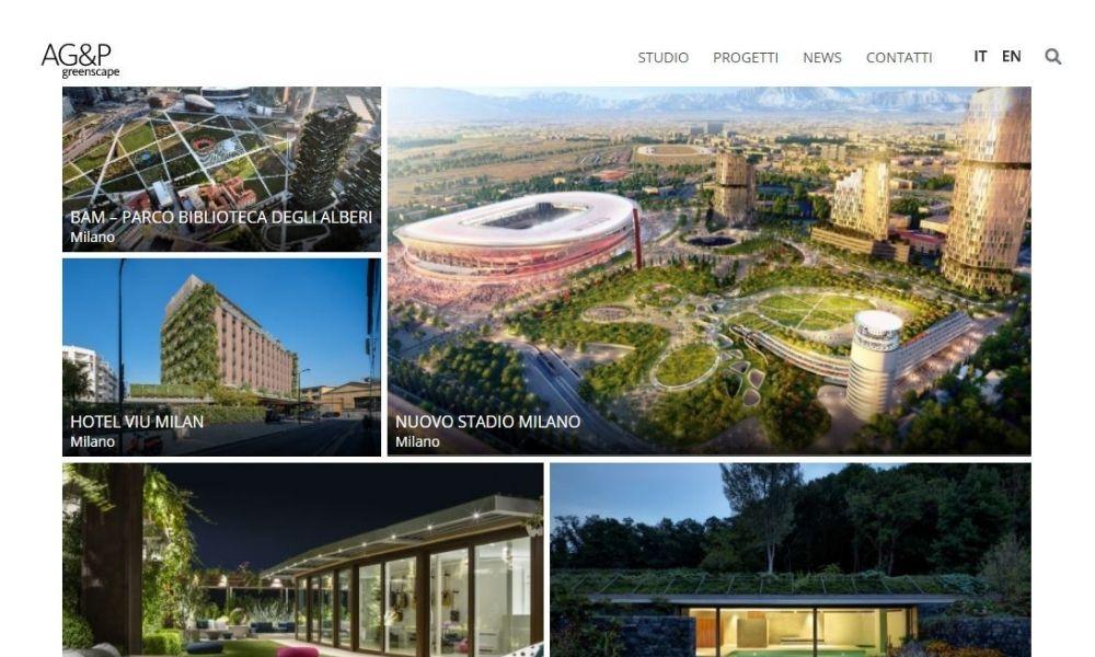 AG&P greenscape rinnova il suo sito web