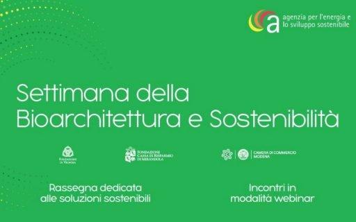 """AG&P greenscape ospite della """"Settimana della Bioarchitettura e Sostenibilità"""""""