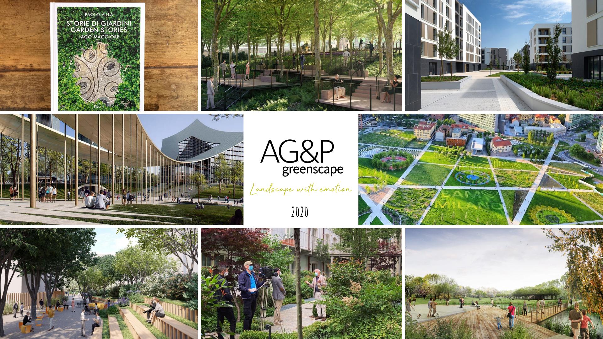 Il 2020 di AG&P greenscape