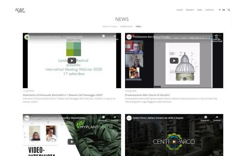 Nasce la sezione video di AG&P greenscape