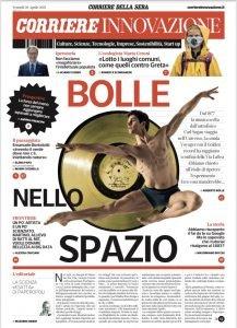 Corriere Innovazione intervista Emanuele Bortolotti