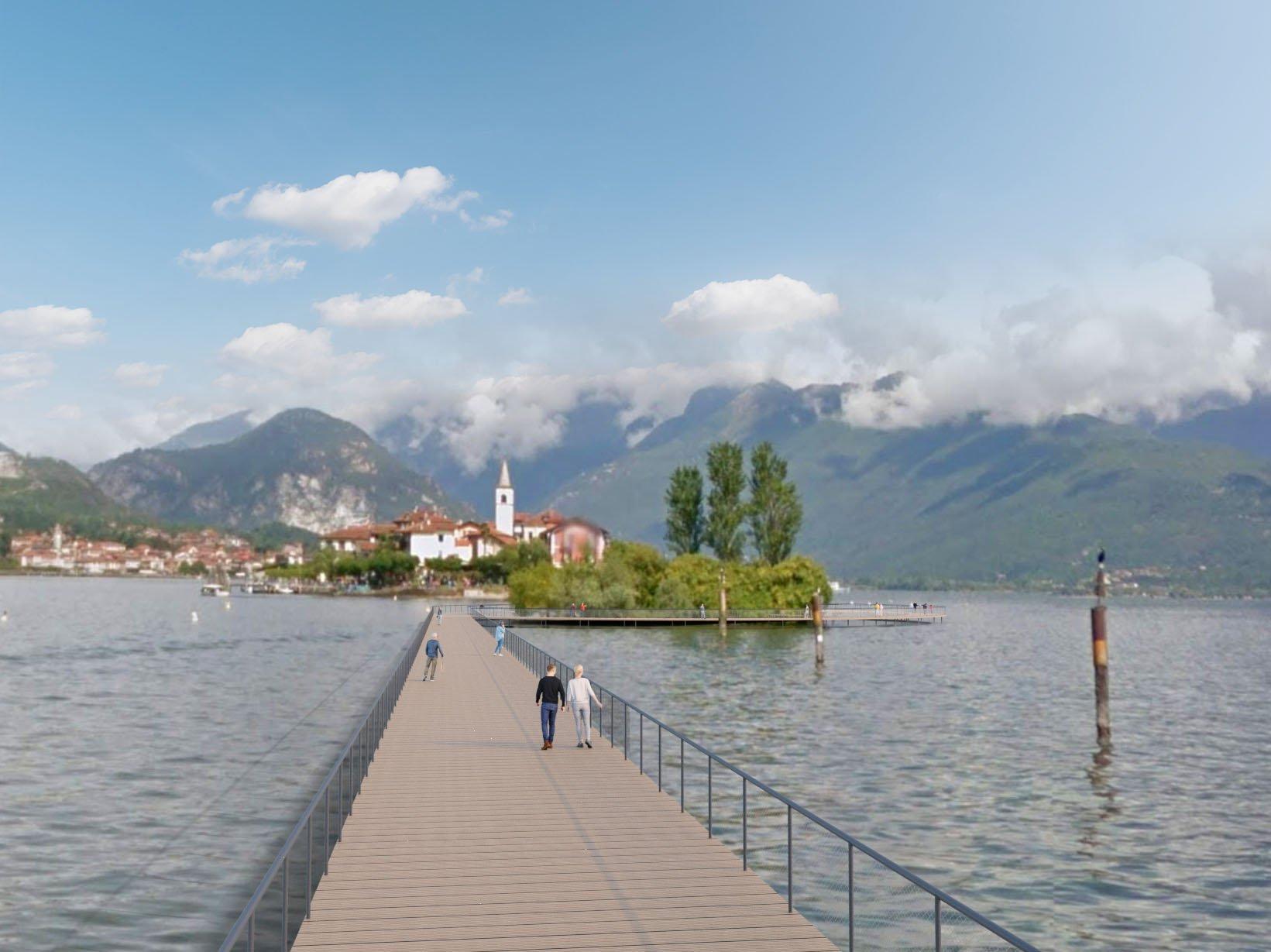 Lago Maggiore Light Bridge