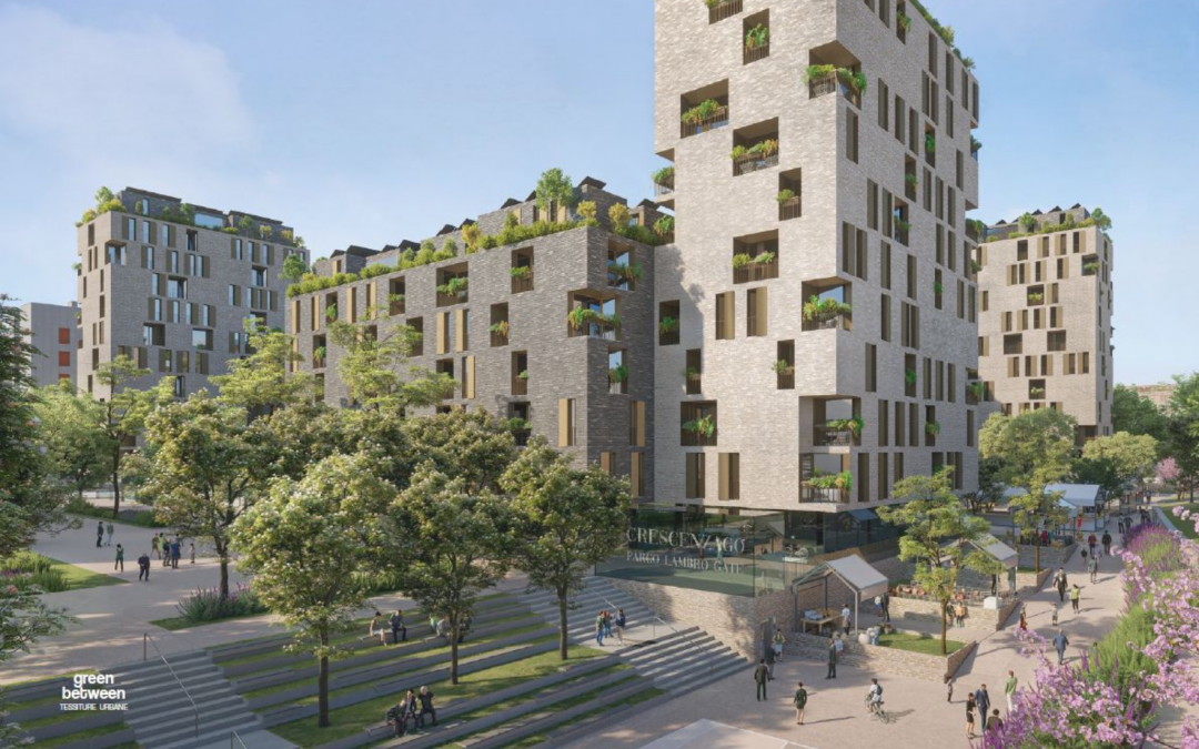 Crescenzago – Green Between | Tessiture Urbane