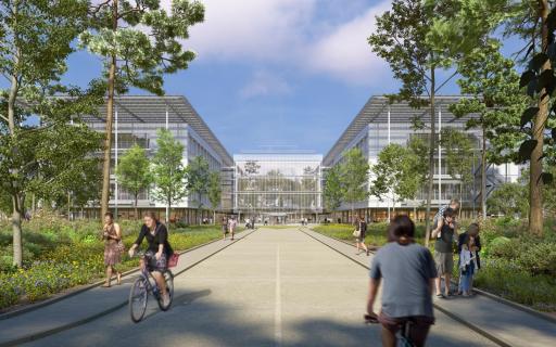 Renzo Piano Building Workshop, PCMR e AG&P greenscape per il nuovo ospedale ISMETT 2